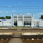 Вокзал в городе Киржаче (фото)