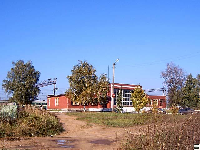 Вокзал в городе Киржач
