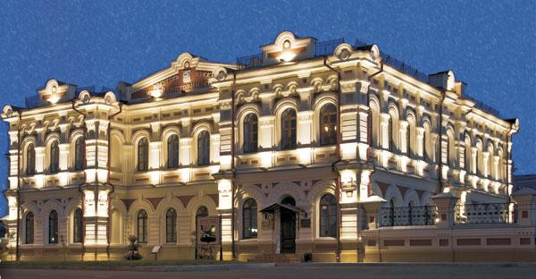 Музей истории в Иркутске