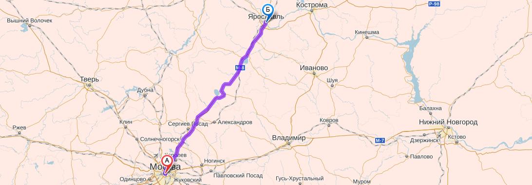Как добраться до Ярославля из Москвы