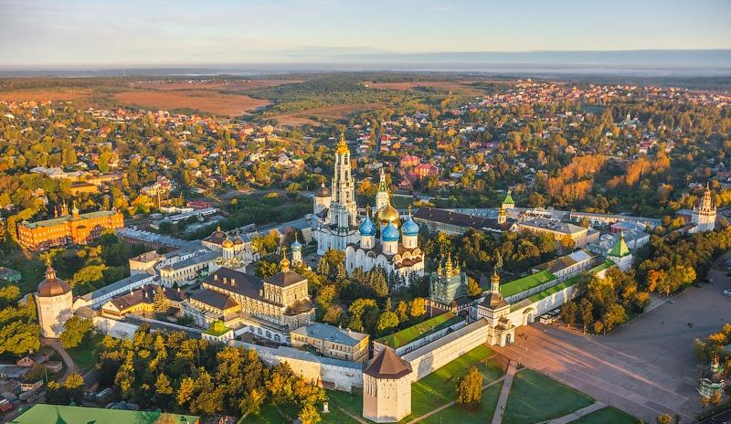 Как добраться из Москвы до Сергиева-Посада